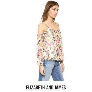 Elizabeth and James | Floral Maylin Blouse